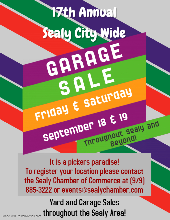 Sealy Citywide Garage Sale