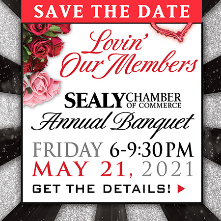 Sealy Chamber of Commerce Banquet 2021